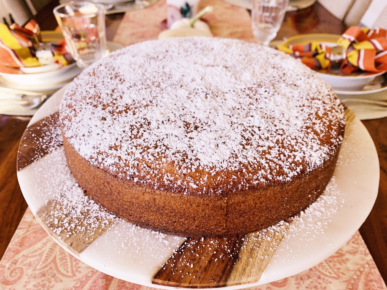 Olive Oil Cake with Warm Peach Compote – Recipe! Image 2