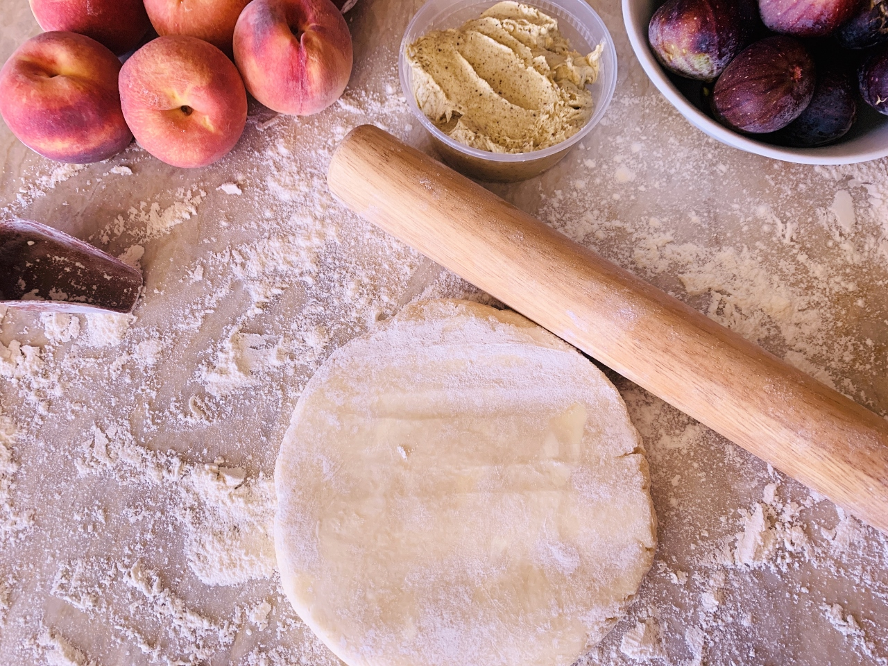 Rustic Fig & Peach Tart with Pistachio Frangipane – Recipe! Image 3
