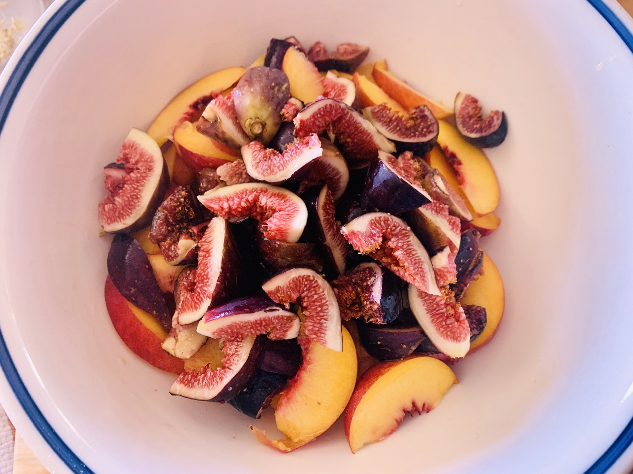 Rustic Fig & Peach Tart with Pistachio Frangipane – Recipe! Image 5