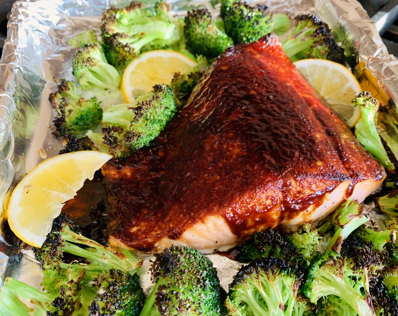 Sheet Pan Miso Glazed Salmon with Broccoli – Recipe! Image 2