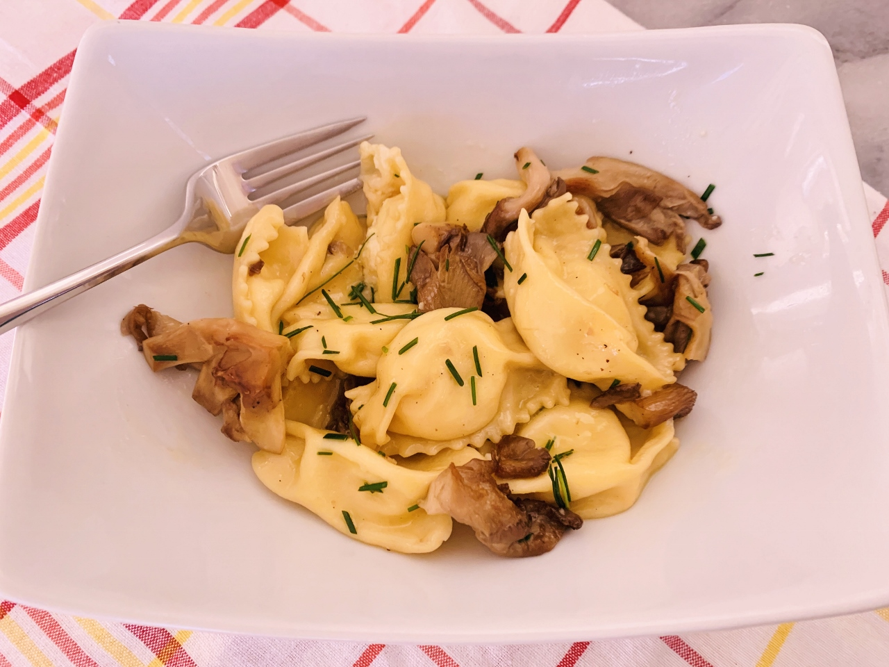 Sweet Corn Agnolotti with Brown Butter Mushroom Sauce – Recipe & Video! Image 2