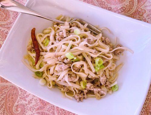 Thai Turkey Noodles – Recipe!