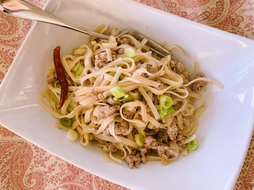 Thai Turkey Noodles – Recipe! Image 1