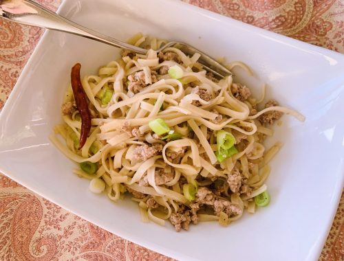 Thai Turkey Noodles – Recipe!