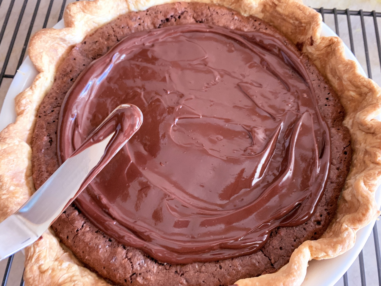 Chocolate-Coconut Spider Web Pie – Recipe! Image 5