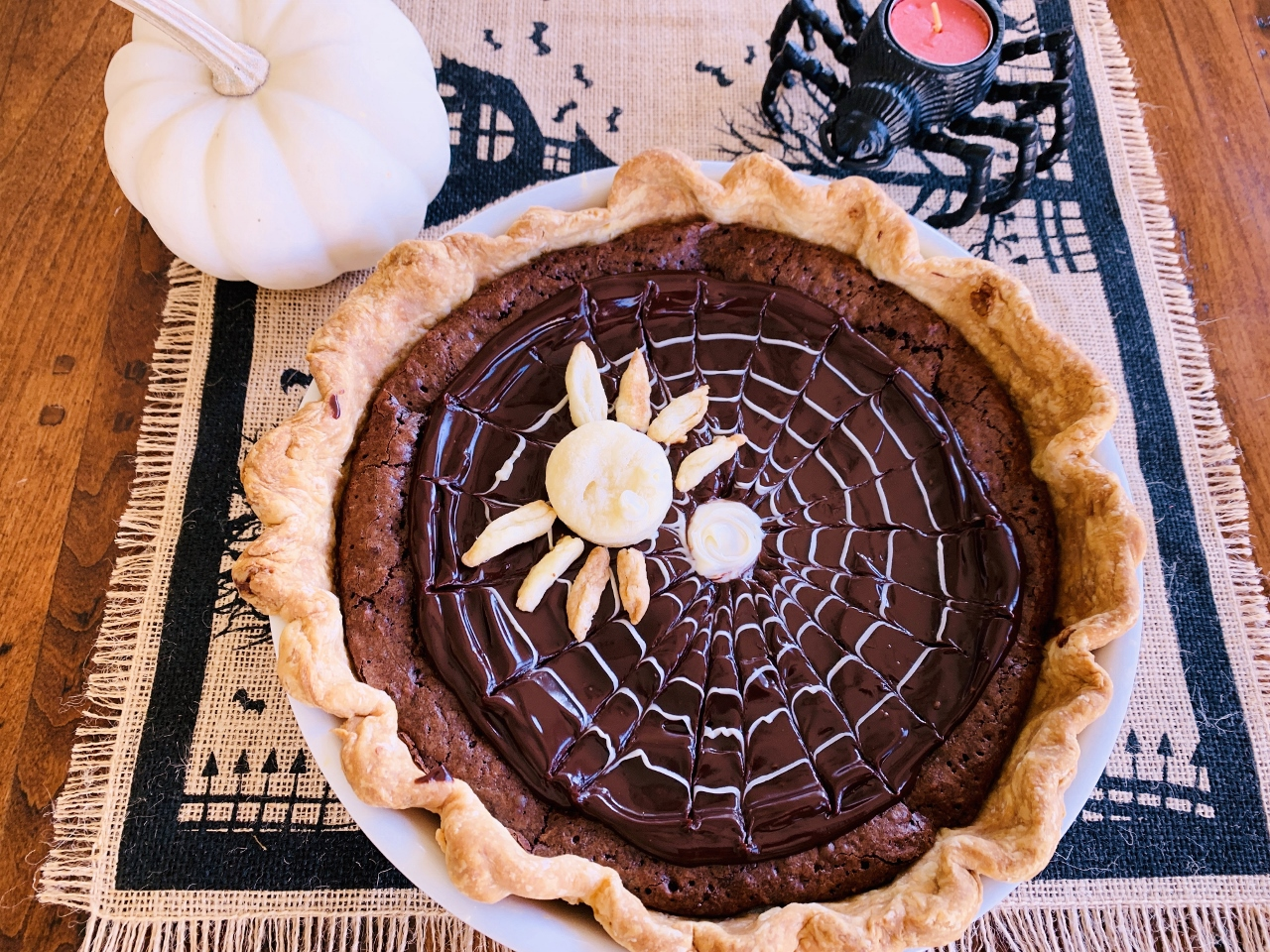 Chocolate-Coconut Spider Web Pie – Recipe! Image 2