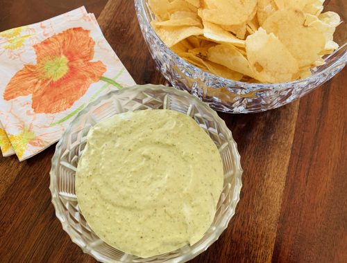 Creamy Pesto Dip – Recipe!