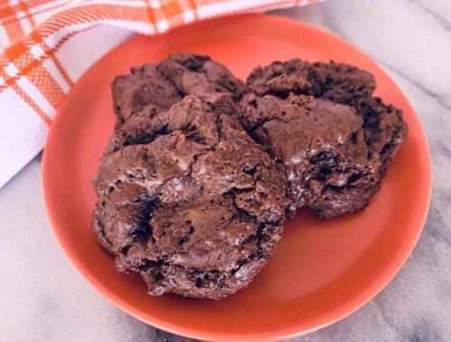 Double Chocolate Brownie Cookies – Recipe!