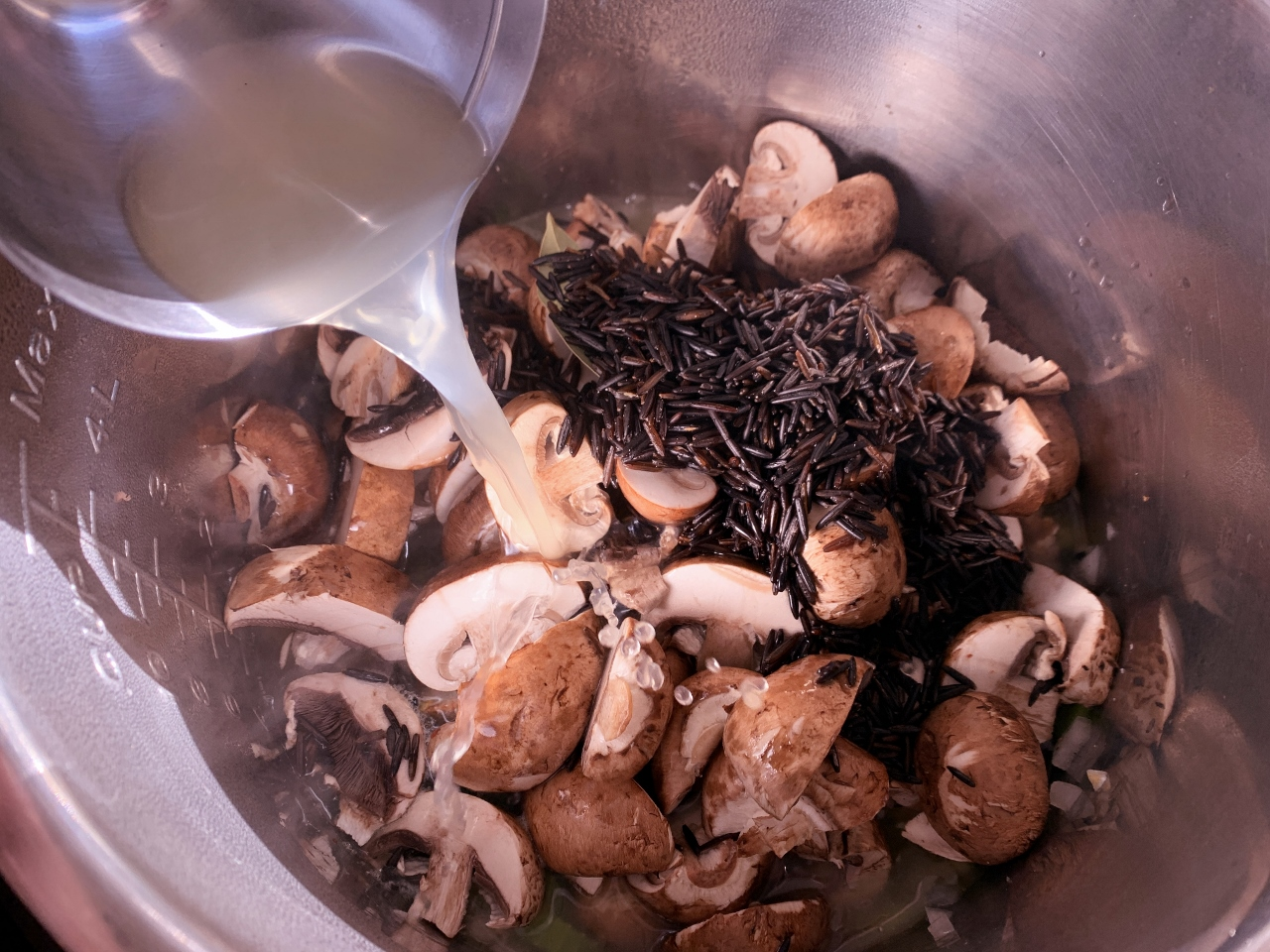 Instant Pot Mushroom & Wild Rice Soup – Recipe! Image 4