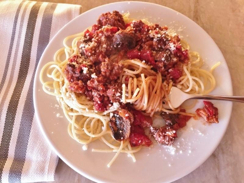 Meaty Mushroom Sauce – Recipe! Image 1