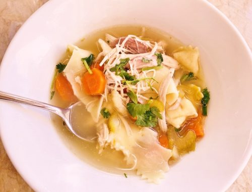 Old-Fashioned Chicken Noodle Soup – Recipe!