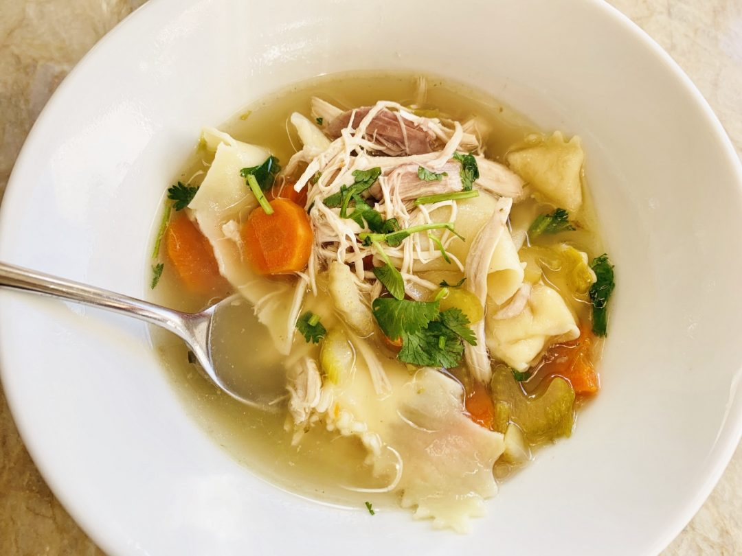 Old-Fashioned Chicken Noodle Soup – Recipe! Image 1