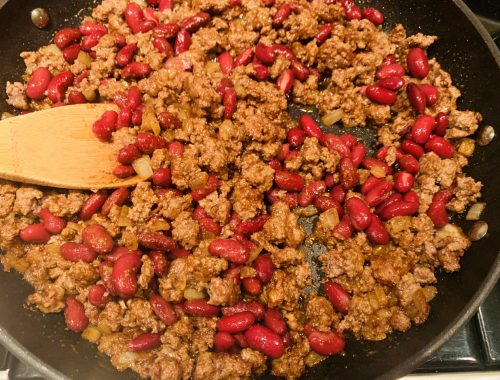 Beef & Bean Filling – Recipe!