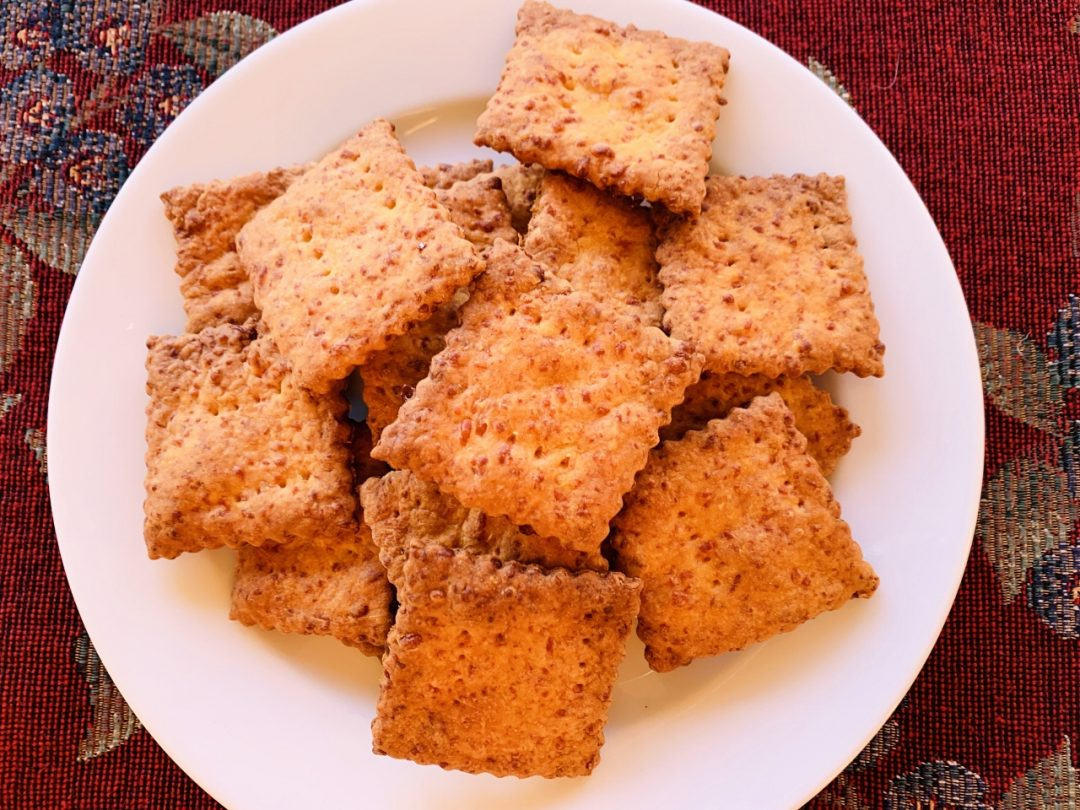 Homemade Cheddar Cheese Crackers – Recipe! Image 1