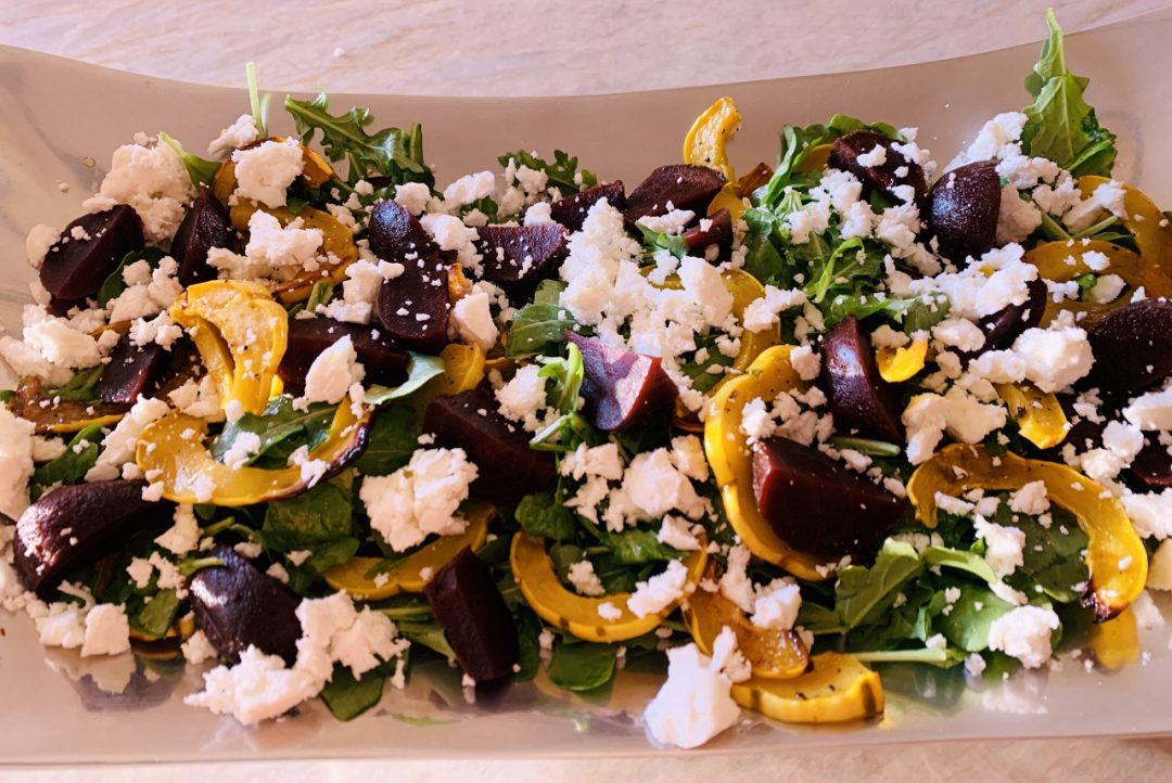 Roasted Delicata Squash & Beet Salad – Recipe! Image 1