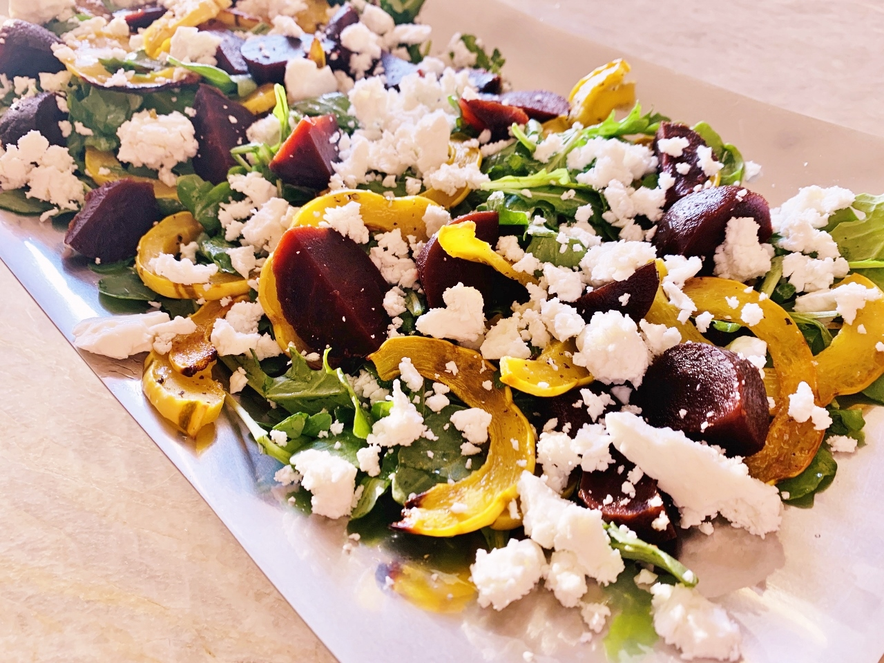 Roasted Delicata Squash, Beet & Feta Salad – Recipe! Image 2