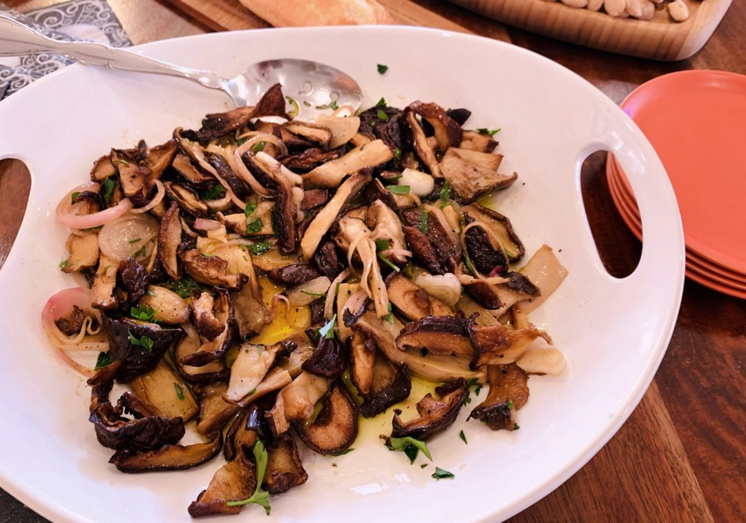 Tangy Roasted Mushrooms – Recipes! Image 1