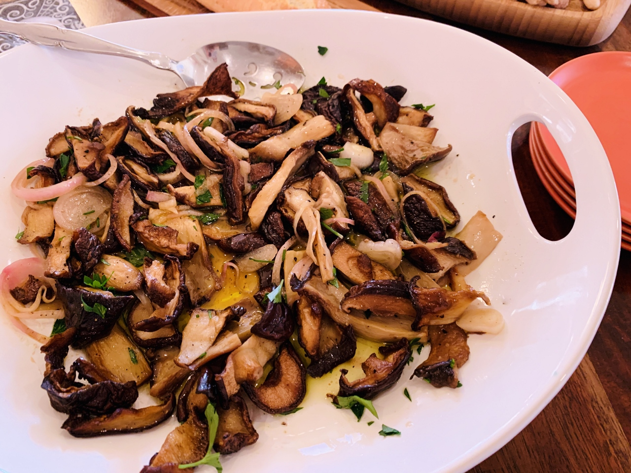 Tangy Roasted Mushrooms – Recipes! Image 2