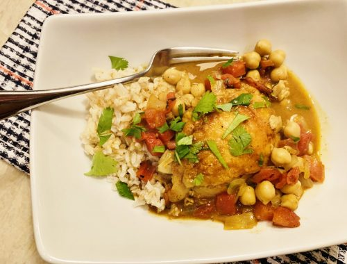 Curry Chicken & Chickpea Stew – Recipe!