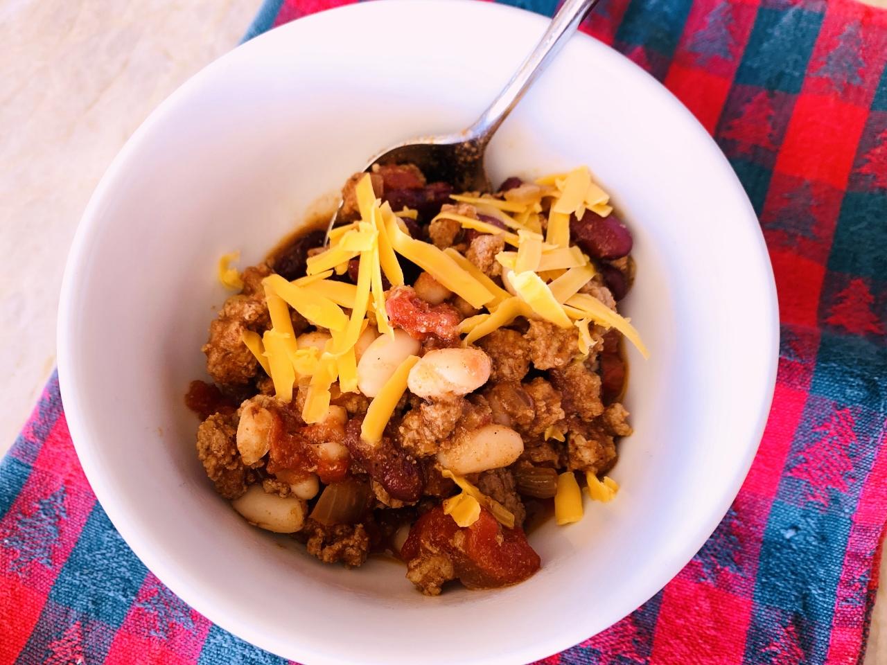Instant Pot Chipotle Turkey Chili Recipe Live Love Laugh Food