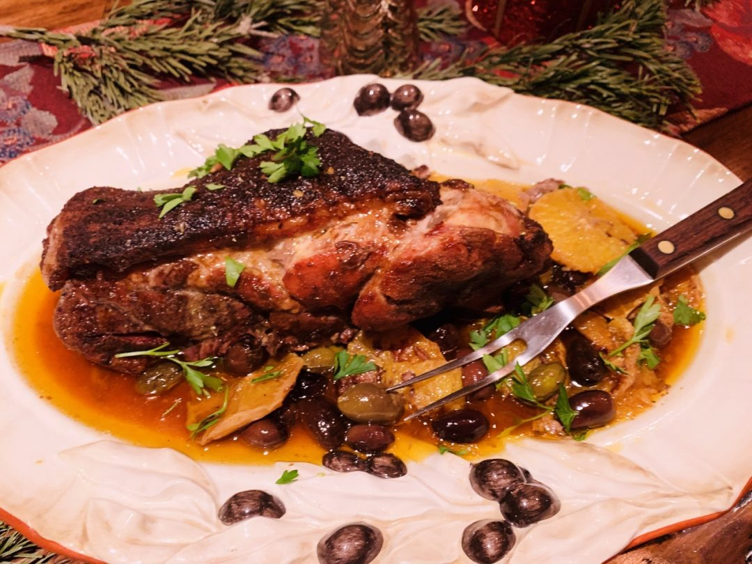 Pork Shoulder with Oranges & Olives – Recipe! Image 1