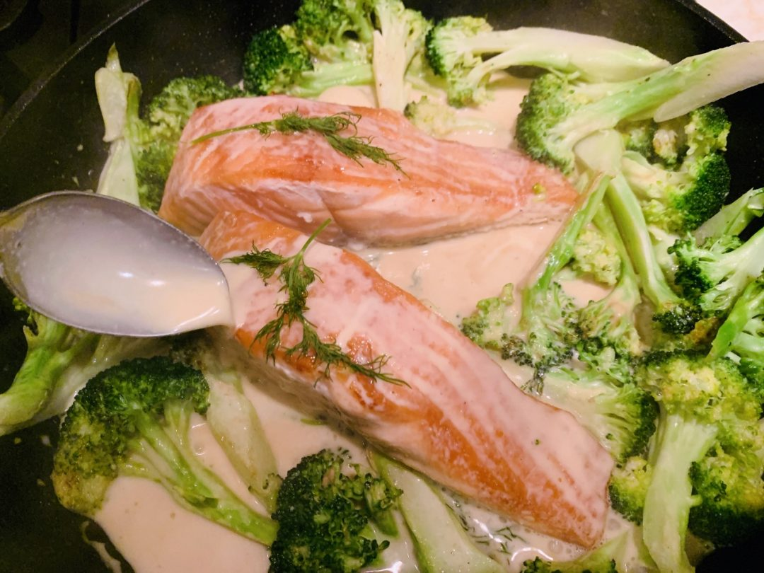 Salmon & Broccoli Dijon – Recipe! Image 1