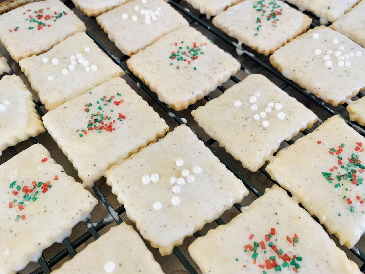 Vanilla Bean Glazed Shortbread Cookies – Recipe! Image 2