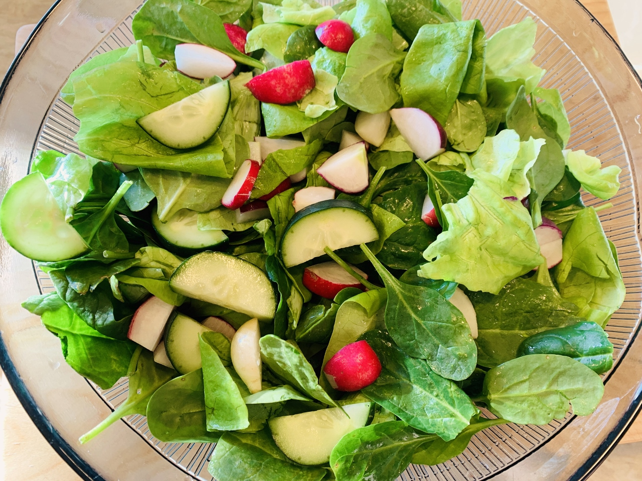 Cucumber & Radish Salad with Creamy Buttermilk Dressing – Recipe! Image 3