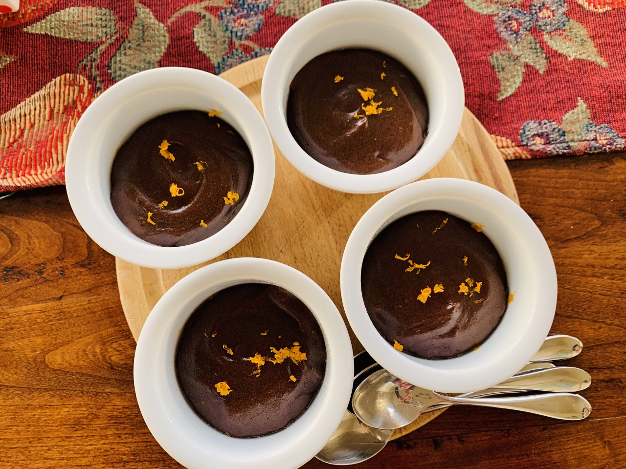 Flourless Molten Chocolate-Orange Cakes – Recipe! Image 2