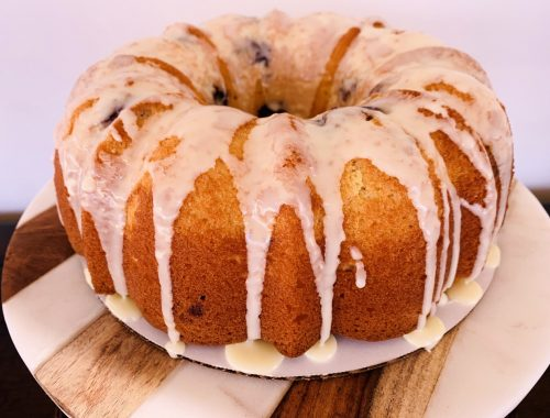 Orange Blueberry Bundt Cake – Recipe!