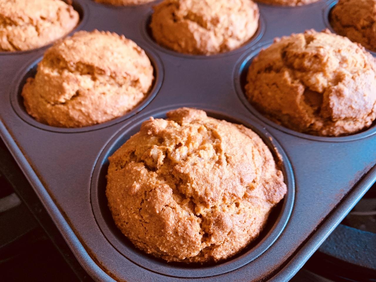 Paleo Pumpkin Walnut Muffins – Recipe! Image 2