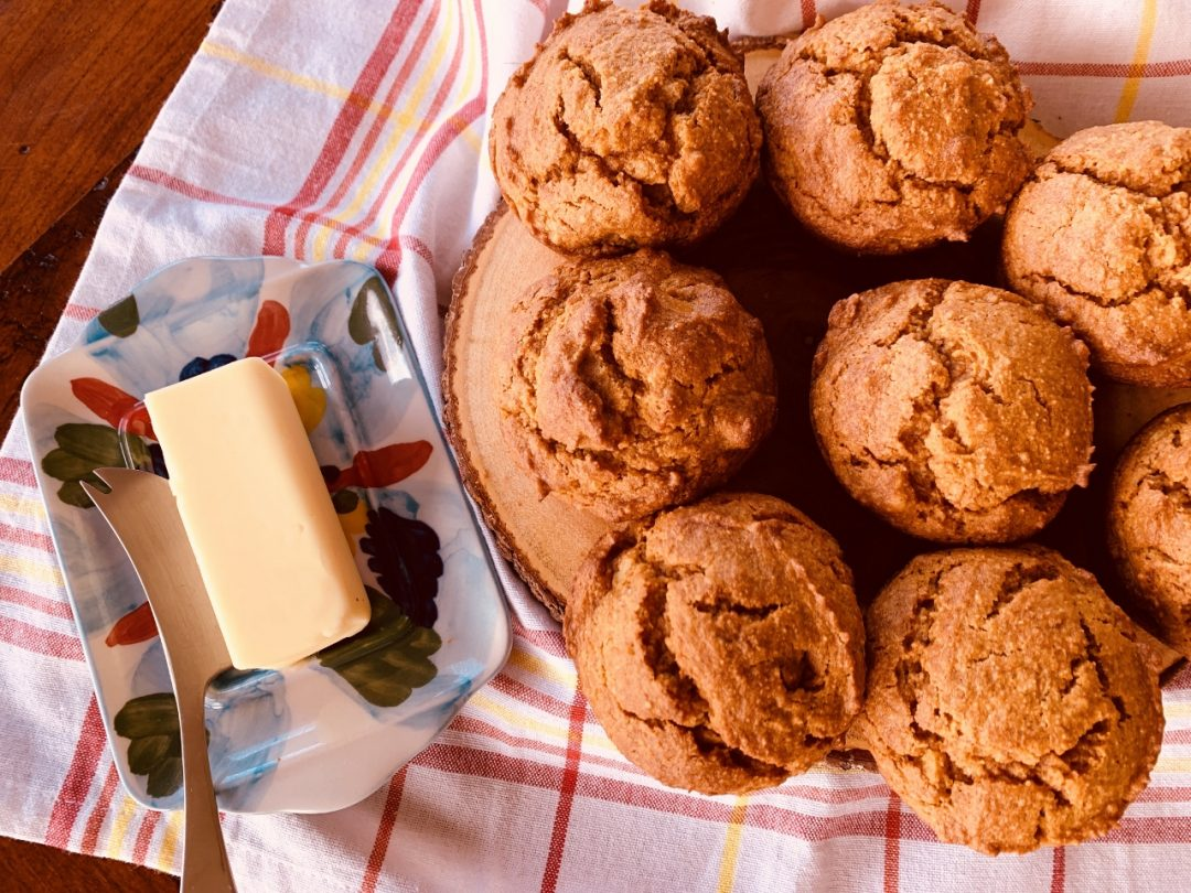 Paleo Pumpkin Walnut Muffins – Recipe! Image 1