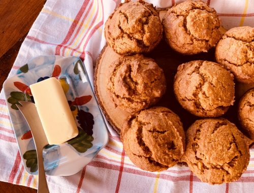 Paleo Pumpkin Walnut Muffins – Recipe!