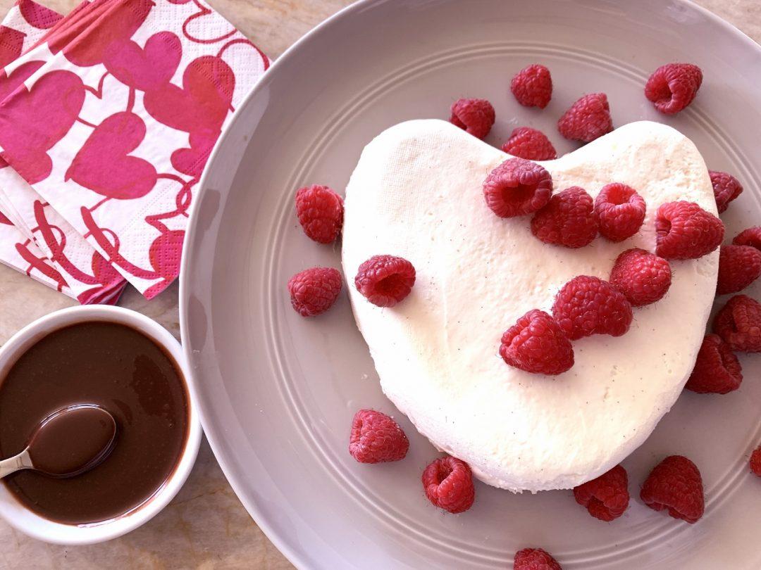 Coeur a la Creme with Raspberries & Chocolate Sauce – Recipe! Image 1