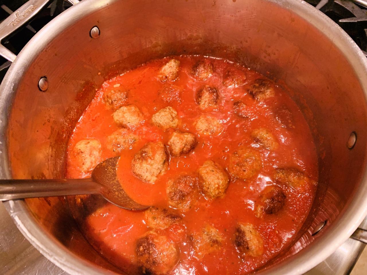 Pork Meatballs with Quick Marinara – Recipe! Image 5