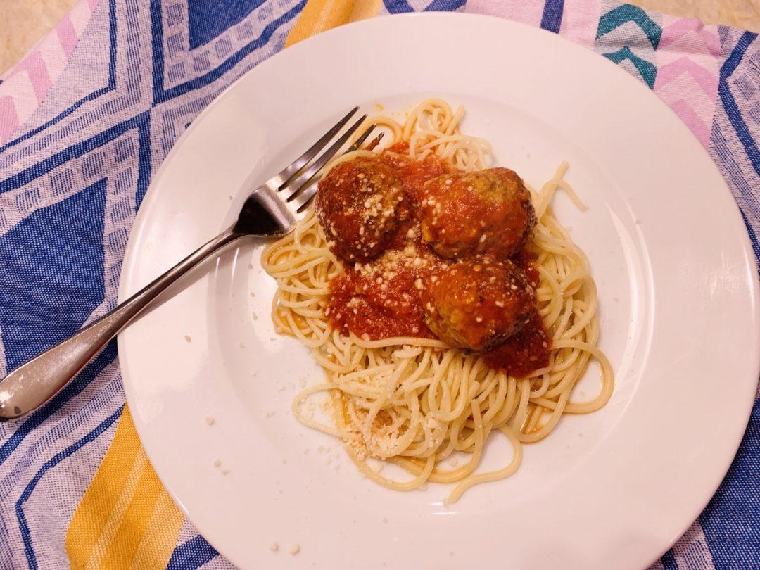 Pork Meatballs with Quick Marinara – Recipe! Image 1