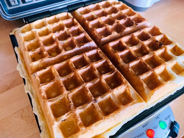 Sourdough Waffles with Blueberries – Recipe! Image 5
