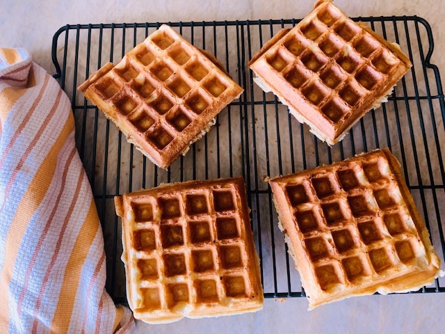 Sourdough Waffles with Blueberries – Recipe! Image 6