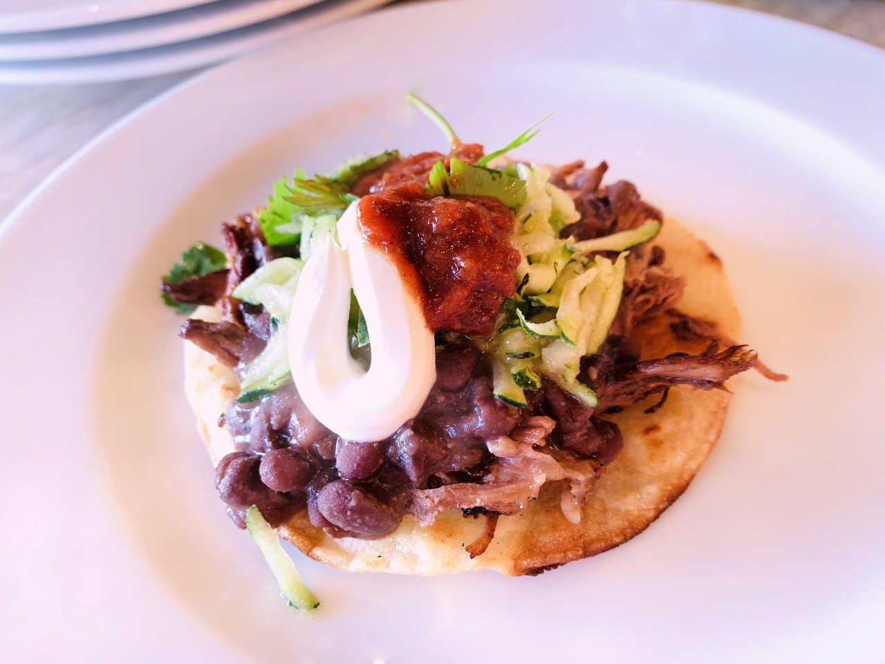 Beef & Black Bean Tostadas with Zucchini Relish – Recipe! Image 2