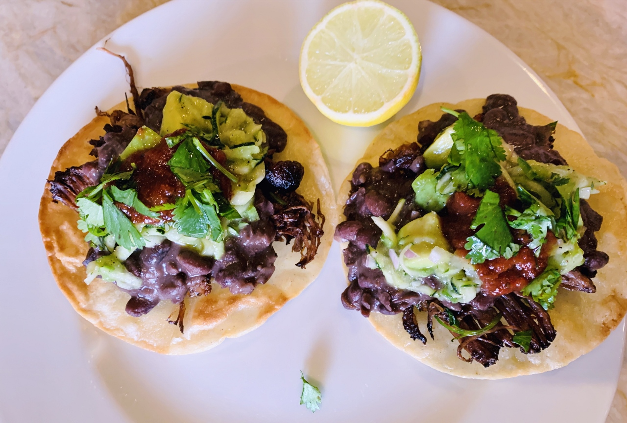 Beef & Black Bean Tostadas with Zucchini Relish – Recipe! Image 6