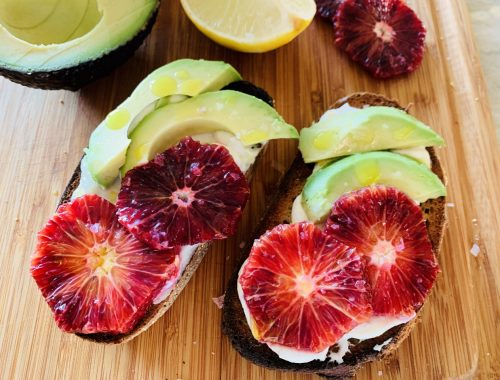 Blood Orange, Avocado & Ricotta Toasts – Recipe!