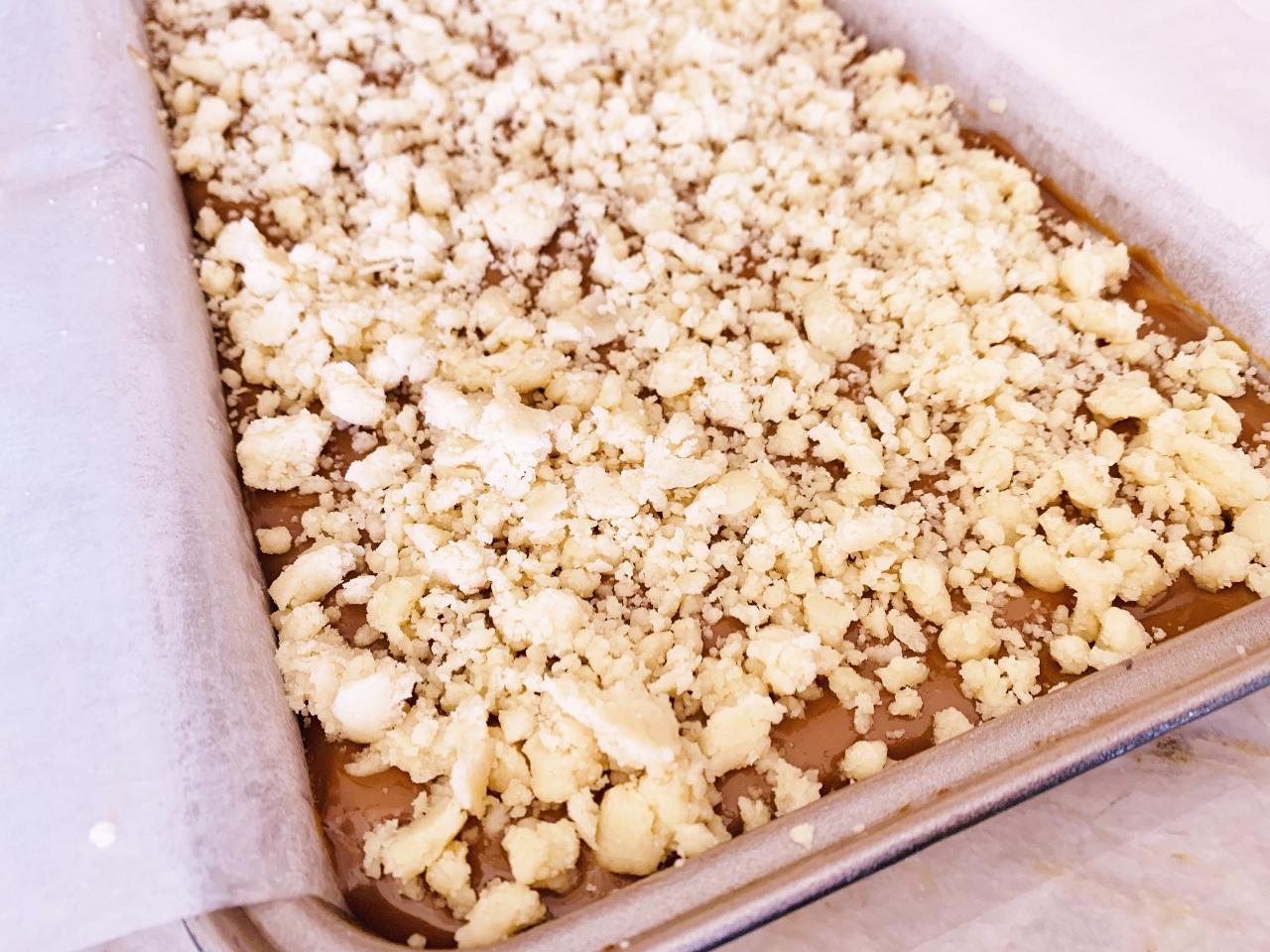 Dulce de Leche Crumb Bars – Recipe! Image 5