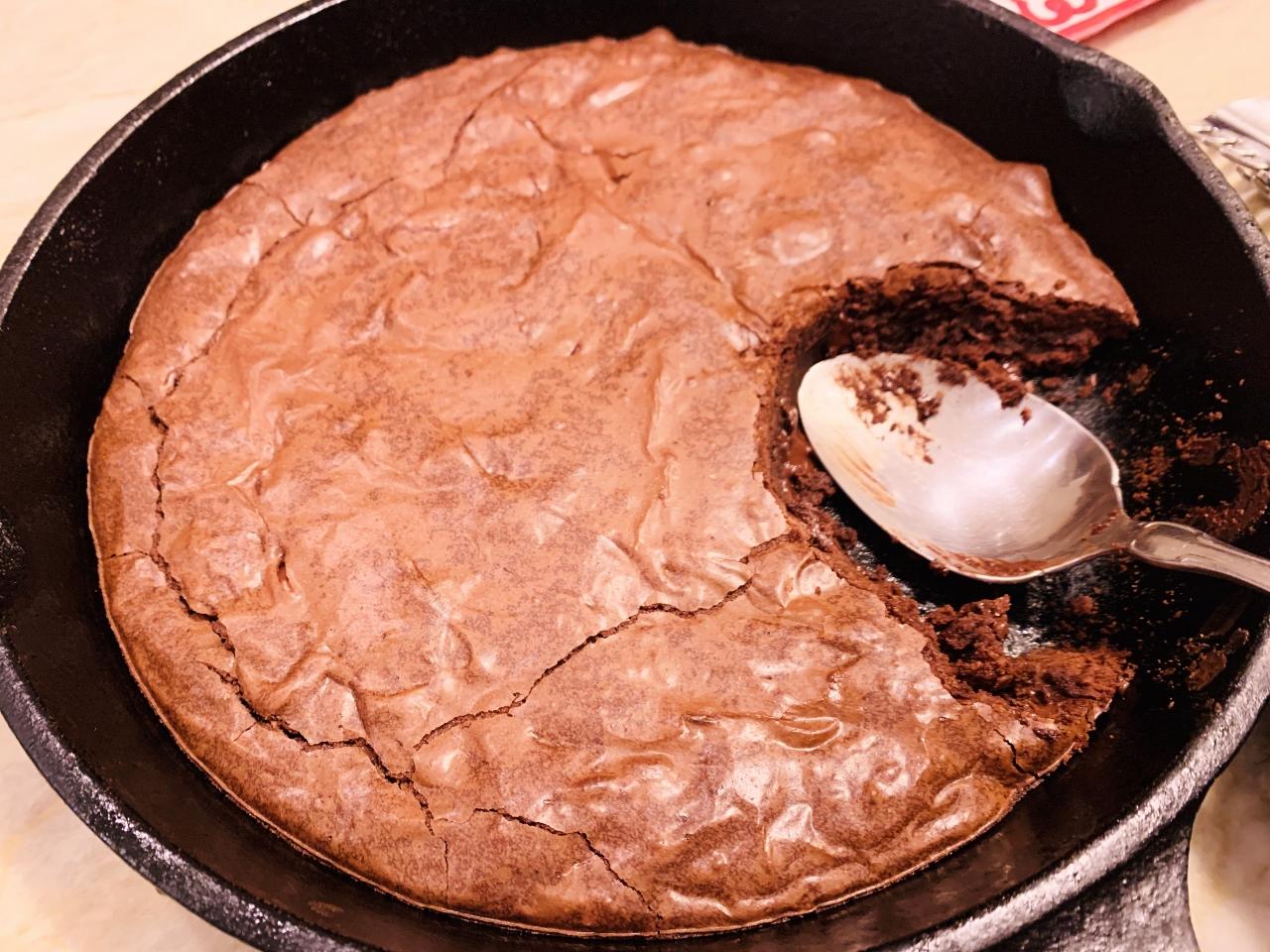 Skillet Brownie – Recipe! Image 4
