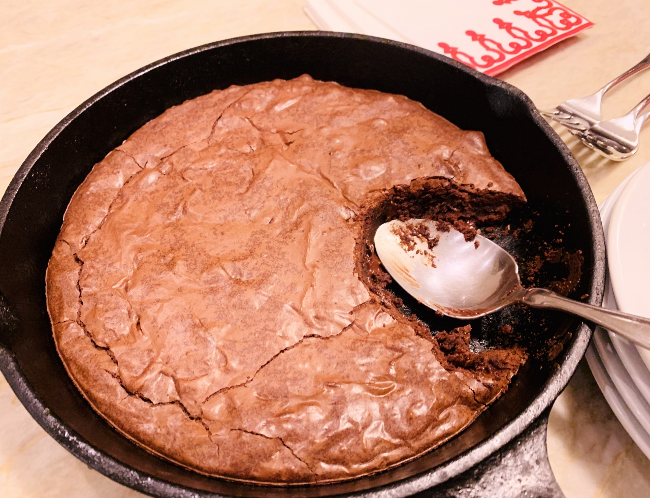 Skillet Brownie – Recipe! Image 2
