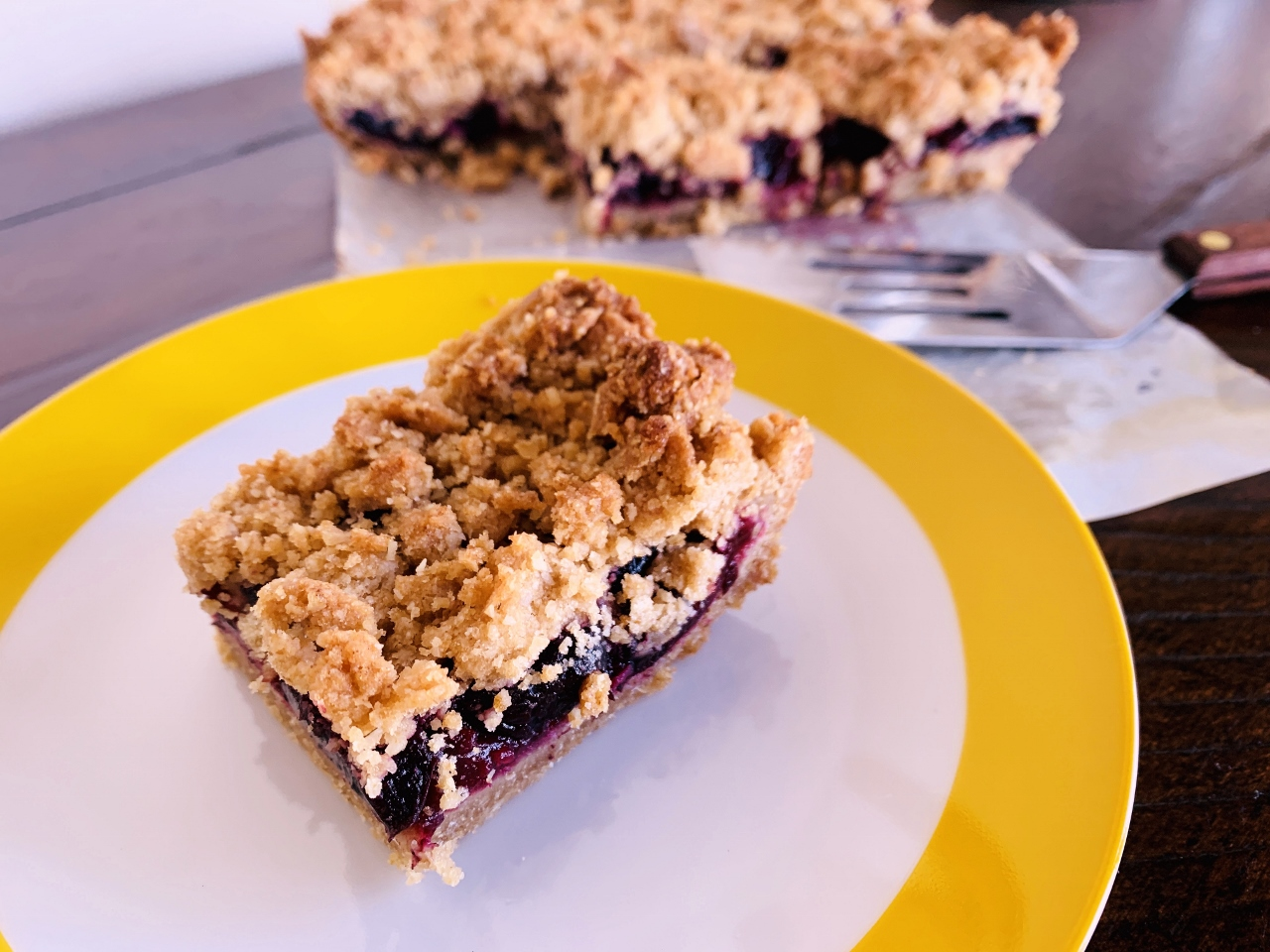 Sour Cherry Oatmeal Bars – Recipe! Image 2