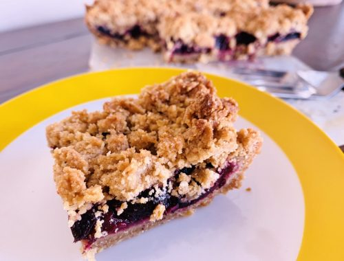 Sour Cherry Oatmeal Bars – Recipe!