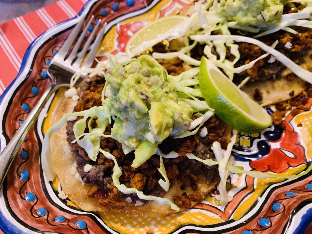 Soy Chorizo & Black Bean Tostadas – Recipe! Image 1
