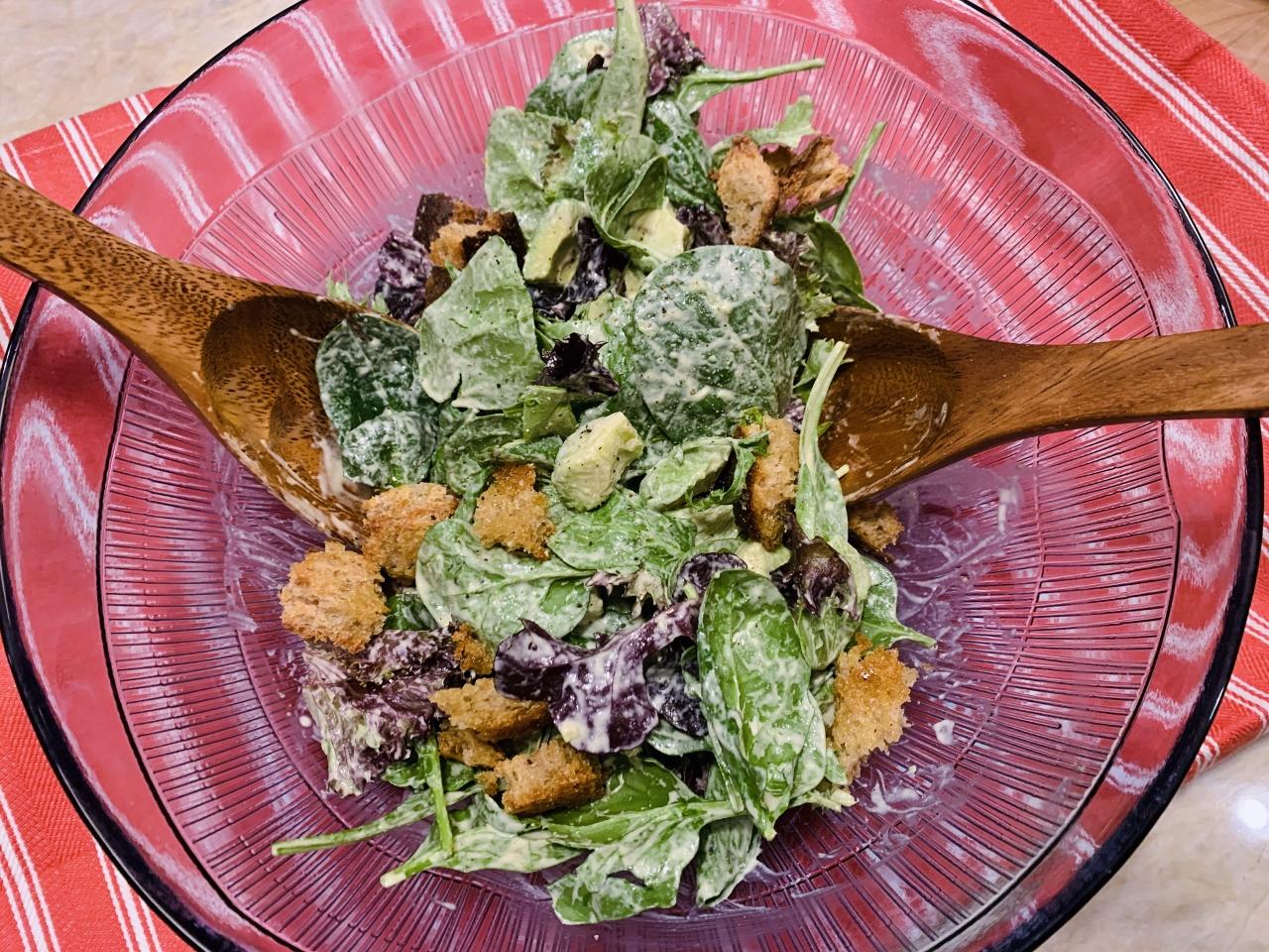 Vegan Caesar Salad – Recipe! Image 2