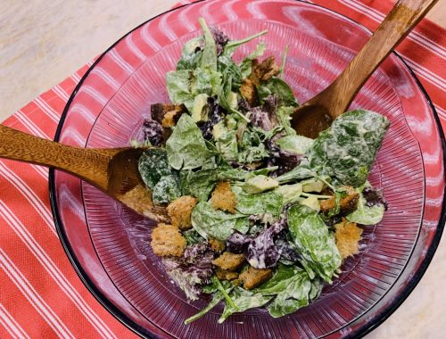 Vegan Caesar Salad – Recipe!