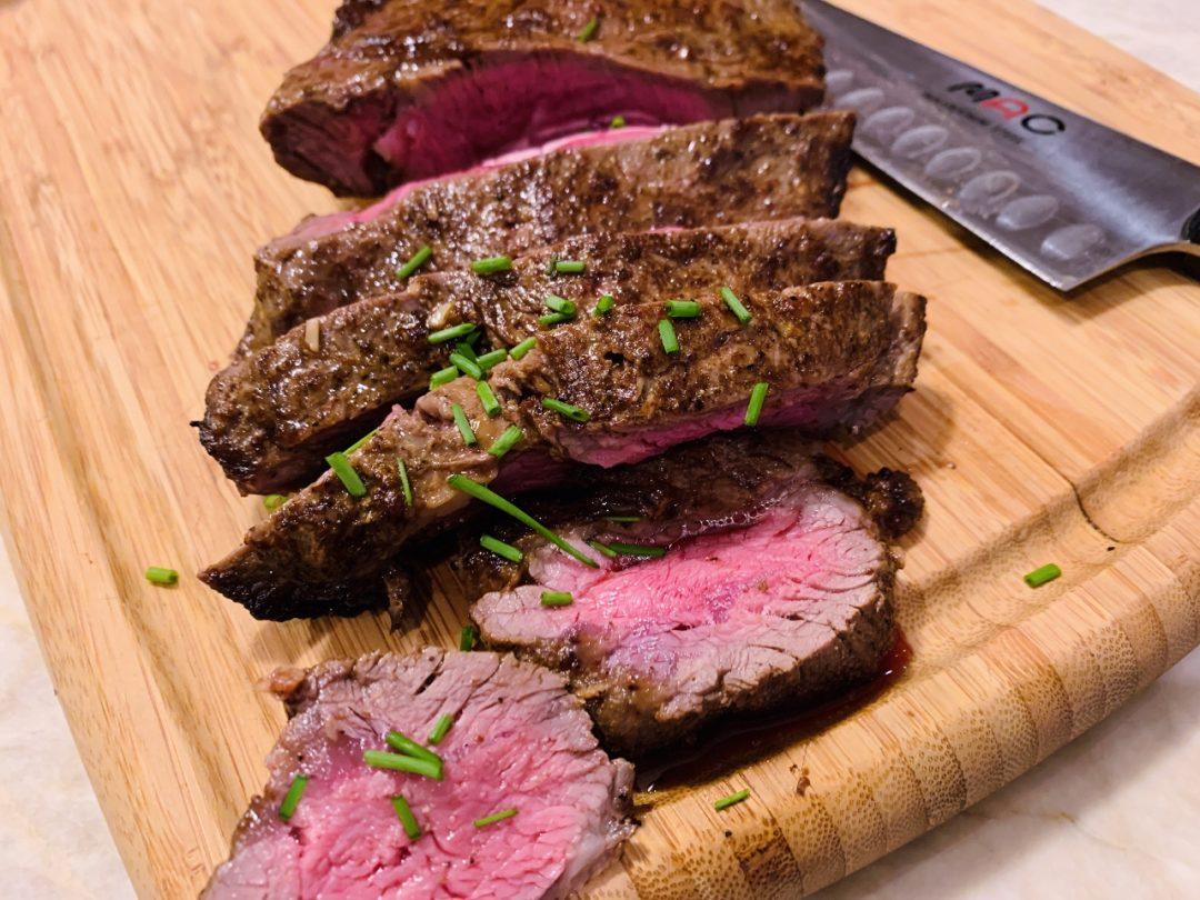 Broiled Marinated Hanger Steak – Recipe! Image 1